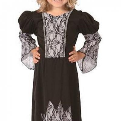 Costume Halloween 3-4ans: Sorcière noire (x1) REF/92317