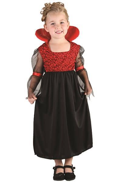 Costume baby fille vampiresse