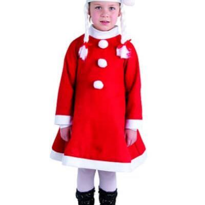 Costume enfant: Mère noël (x1) REF/60140