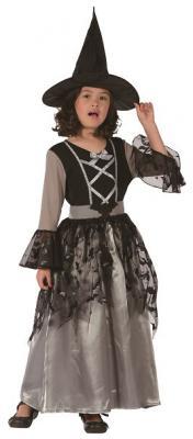 Costume enfant luxe: Sorcière (x1)