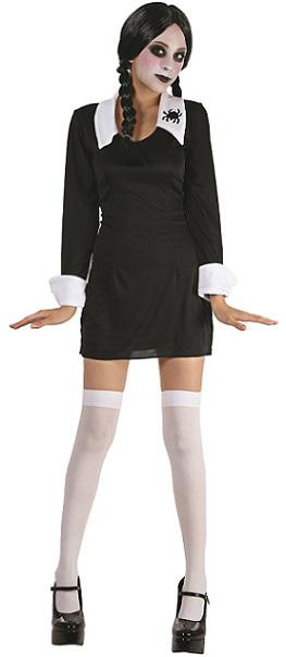 Costume femme adulte halloween mercredi