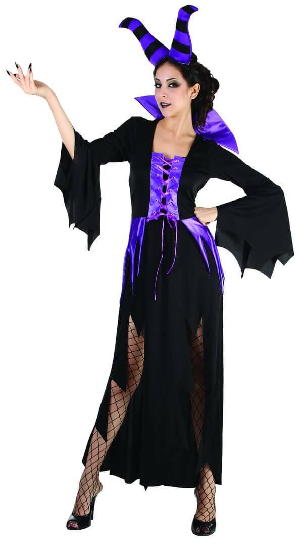 Costume femme sorciere malefique