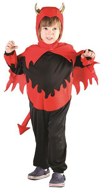 Costume garcon diable 1