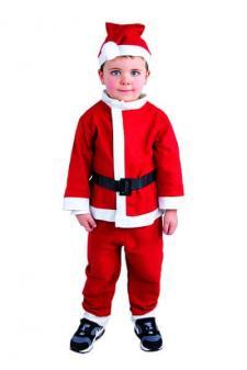Costume enfant: Père noël (x1) REF/60040