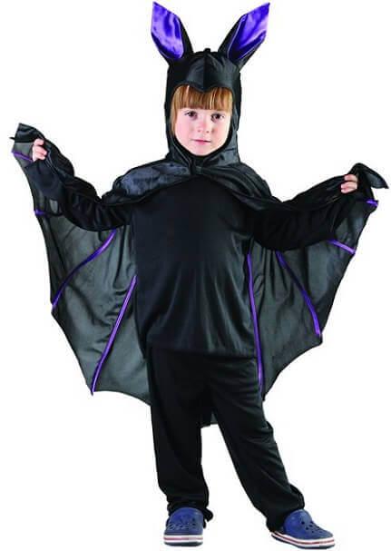 Costume halloween fille chauve souris