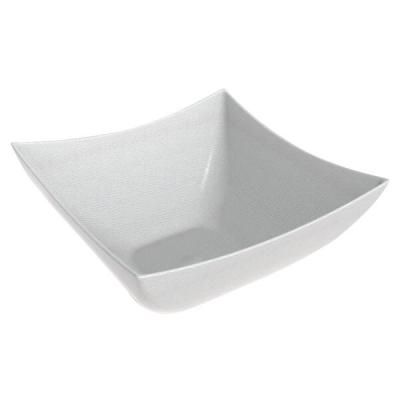 Coupelle blanche BIO carrée 9cl (x50) REF/66006