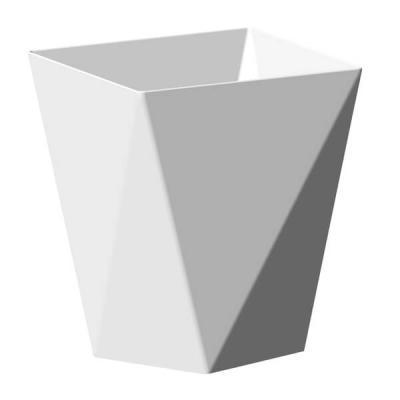 Coupelle diamant blanche 100ml (x25) REF/56108