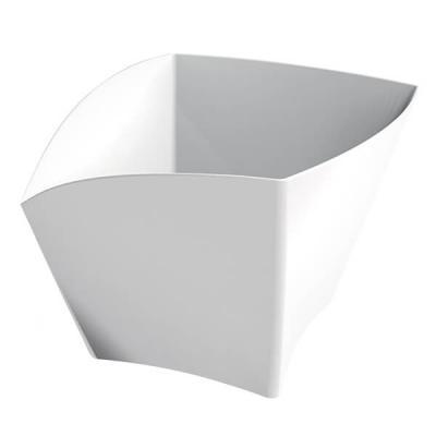 Coupelle curve blanche 90ml (x25) REF/56113