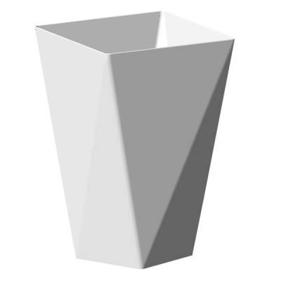 Coupelle diamant blanche 150ml (x12) REF/56109