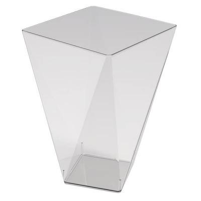 Coupelle diamant transparente 150ml (x12) REF/56109