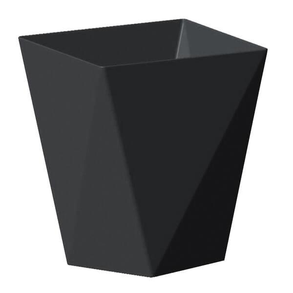 Coupelle noire diamant