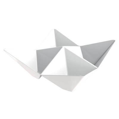 Coupelle Origami blanche 103mm (x25) REF/56111