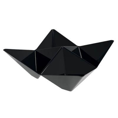 Coupelle Origami noire 103mm (x25) REF/56111