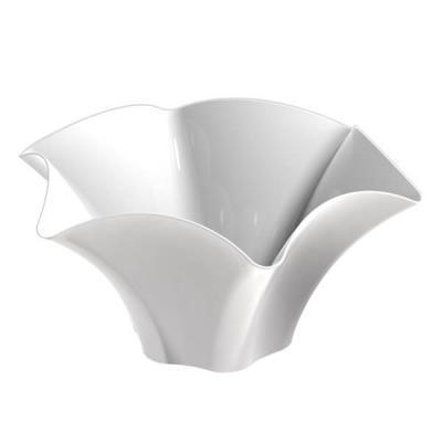 Coupelle pétunia blanche 70ml (x25) REF/56116