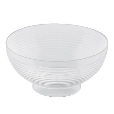 Verrine: Coupelle transparente mini bol 6cl (x10) REF/56026