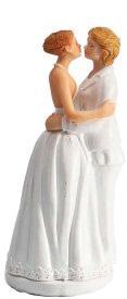 Couple de mariés femmes amoureuses (x1) REF/92214