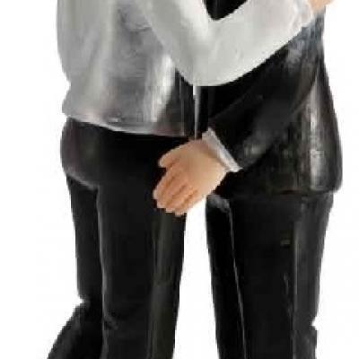 Couple de mariés hommes amoureux (x1) REF/92213