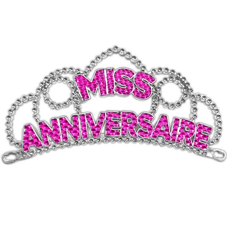 Couronne de miss joyeux anniversaire cadeau de fete pour femme