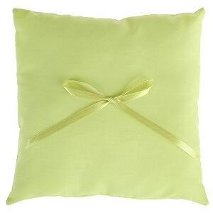 Coussin a alliance avec noeud vert