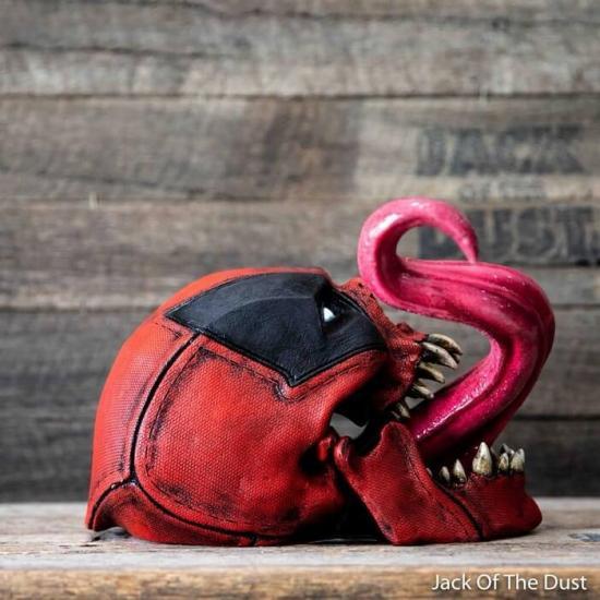 Crane halloween venom deadpool marvel