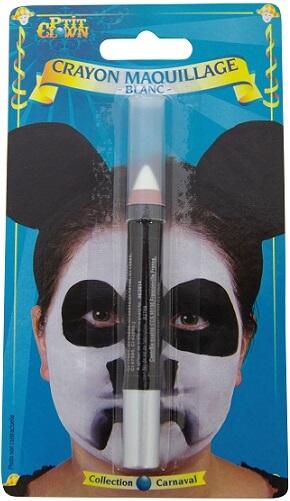 Crayon maquillage blanc