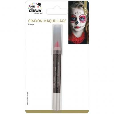 Crayon maquillage rouge (x1) REF/84301