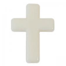 Croix ivoire (x10) REF/MT971