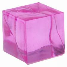Cube décoratif fuchsia (x12) REF/3851