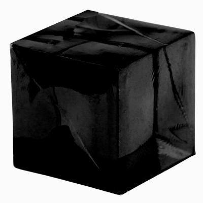 Cube décoratif noir (x12) REF/3851