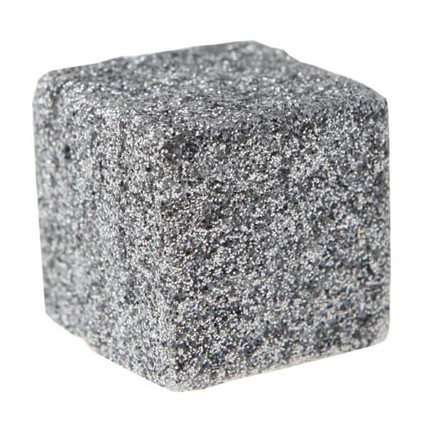 Cube paillete argent 1