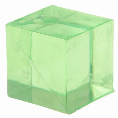 Cube décoratif vert (x12) REF/3851