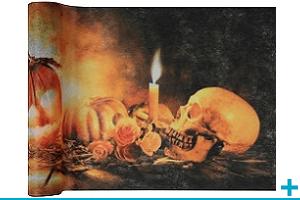 Decoration avec chemin de table halloween