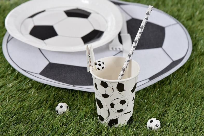 Decoration avec gobelet football