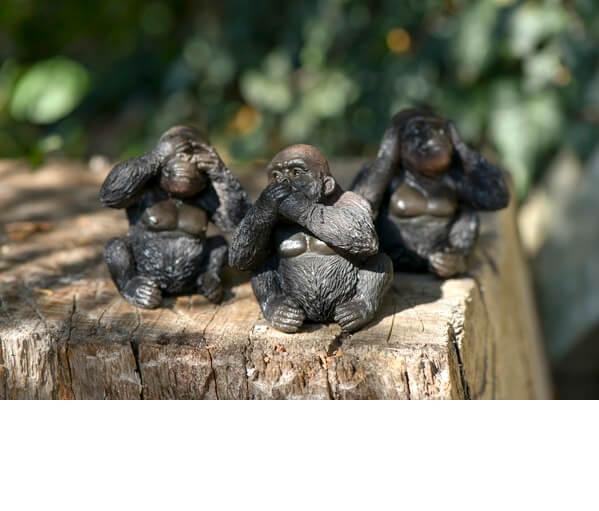 Decoration bebe gorille