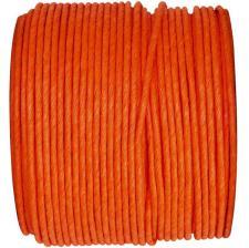 Bobine papier cordon laitonné orange (x1) REF/2718