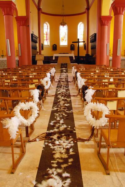 Decoration d eglise marron