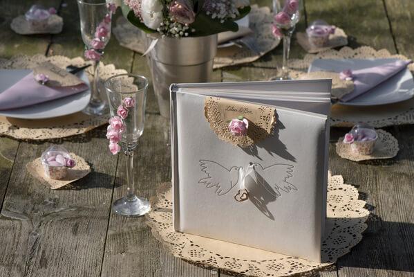 Decoration de livre d or mariage