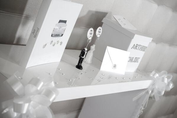 Decoration de mariage blanc