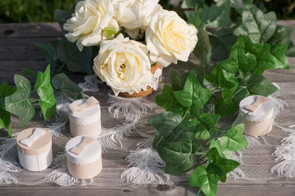 Decoration de mariage ecologique green wedding