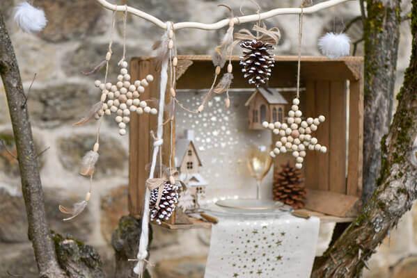 Decoration de noel blanc