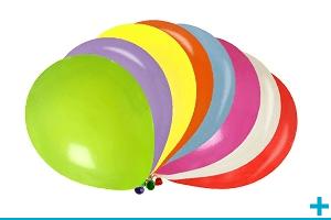 Decoration de salle avec ballon couleur uni