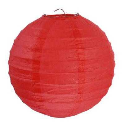 Lanterne rouge 30cm (x2) REF/4313