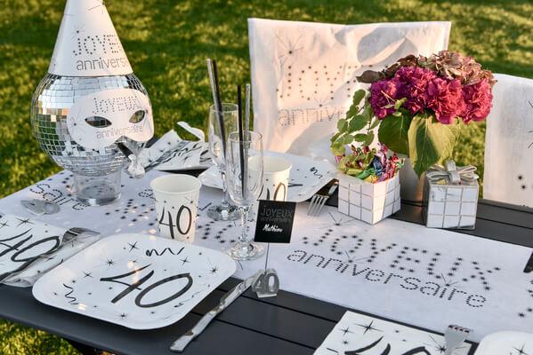 Decoration de table anniversaire 1