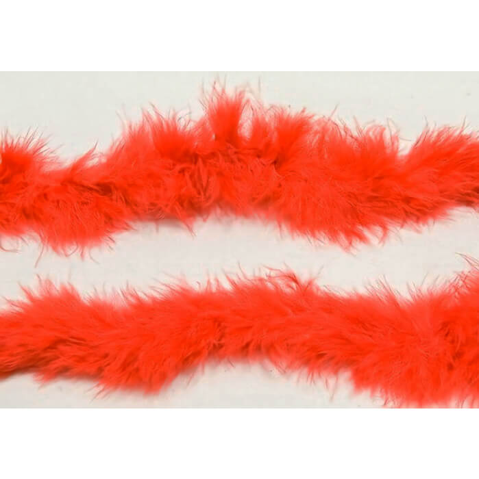 Decoration de table avec guirlande plume rouge
