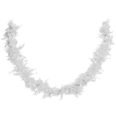 Décoration de table avec guirlande Boa blanc (x1) REF/21600
