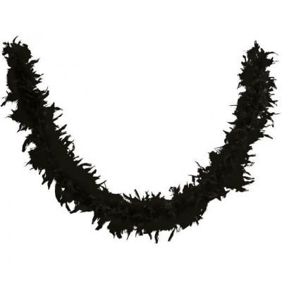 Décoration de table avec guirlande Boa noir (x1) REF/21601