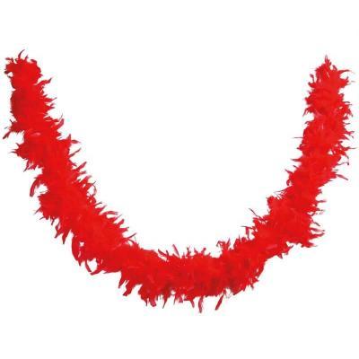 Décoration de table avec guirlande Boa rouge (x1) REF/21602