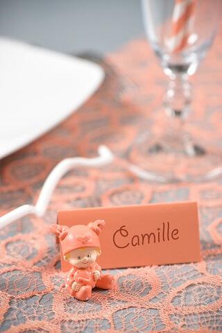 Decoration de table bapteme