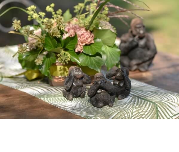 Decoration de table bebe gorille