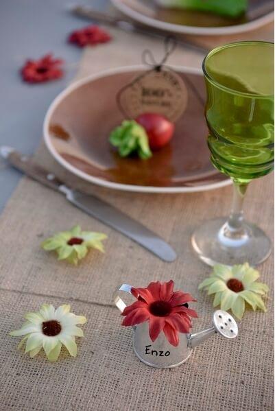 Decoration de table champetre 3